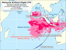Flight Path Map File Mh370 Malaysia Airlines Flight 370 Map Geomar Calculation 01