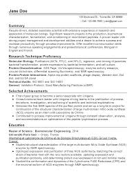 master resume template biology resume template venturecapitalupdate