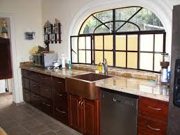 Kitchen Sink Size And Window by Kitchen Copper Kitchen Sink With41 Copper Kitchen Sink With