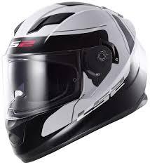 full face motocross helmets ls2 ff320 stream lunar helmet white black high quality ls2 full