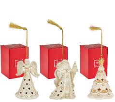 lenox s 3 florentine pearl ornaments with gift boxes page 1
