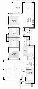 house plans for wide lots 2 story house plans for wide lots new 10 metre wide home designs