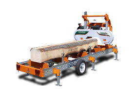 lumberpro hd36 hydraulic portable sawmill mobile bandsaw mill