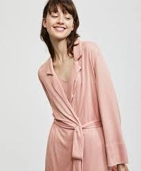 robe de chambre robe de chambre revers maille coupée nouveautés pyjamas et