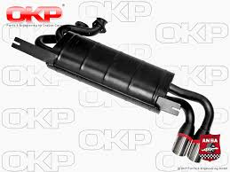 testarossa exhaust okp parts and engineering gmbh