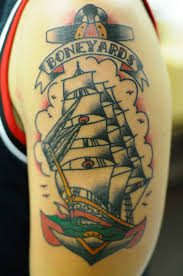 ship tattoo images u0026 designs
