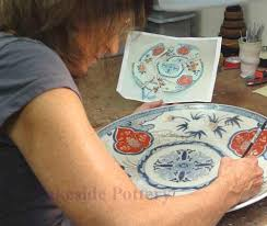 how to paint broken pottery or ceramic repair service