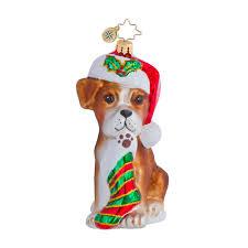 radko ornaments ornament boxer bradley