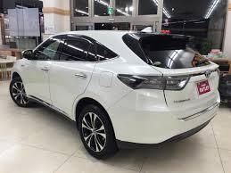 lexus harrier 2016 interior 2016 toyota harrier hybrid premium advanced style mauve used car