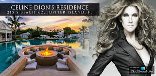 Map Jupiter Florida by Celine Dion Residence U2013 215 South Beach Road Jupiter Island Fl