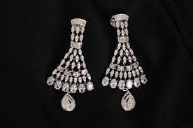 diamond earrings design american diamond earrings