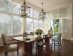 dining room rustic dining room window treatments with bamboo