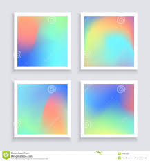 Wallpaper Invitation Card Fluid Colors Backgrounds Set Applicable For Banner Cover Flyer