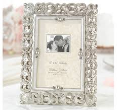 picture frame wedding favors picture frame wedding favor home place card holders silver pearls