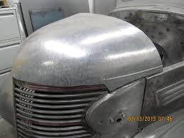 Classic Ford Truck Sheet Metal - custom hood fabrication 1938 chevrolet pepsi truck custom build
