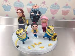 despicable me cake topper cake by davies cakesdecor
