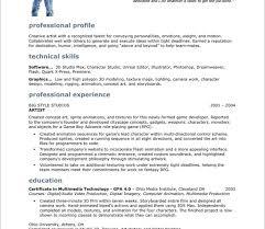 Artist Resume Template Word Stunning Design Artist Resume Template 5 Video Game Cv Resume Ideas
