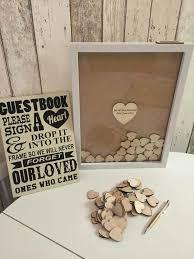 Wedding Wishes Keepsake Shadow Box Modern And Fun Guest Book Ideas Guestbook Ideas Guestbook And Note