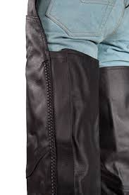 mens motorcycle leathers men u0027s motorcycle black leather riding chap pants braided bikers