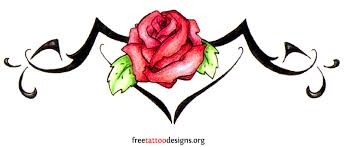 Tribal Tattoos With Roses - lower back tribal tattoos tribal