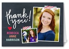 graduation thank you cards shutterfly