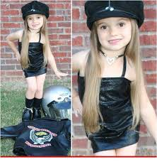 Motorcycle Halloween Costume Halloween Biker Costume Dress Child