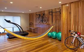 bike rack storage with stand and casual home gym design also wood