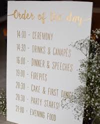 personalised wedding backdrop uk order of the day painted wooden sign wedding sign https