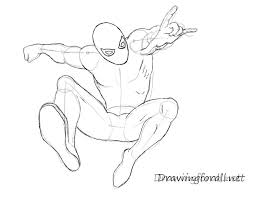 draw amazing spider man drawingforall net