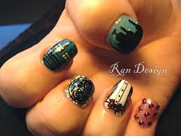 amazing doctor who fingernail art pic global geek news