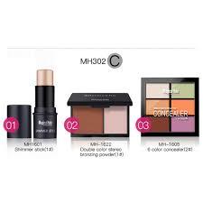 color concealer new style magicalhalo 3 pcs face makeup cosmetics set 6 colors