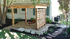 Pergola With Swing by Outdoor Living Landmark Landscapes A Lincoln Landscaping Company