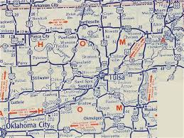 Oklahoma travel maps images Oklahoma route 66 jpg
