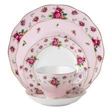 royal albert new country roses pink vintage 5 set royal