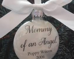 baby memorial ornament in memory infant memorial