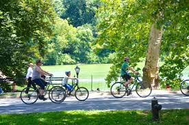 bicycle riding in central park