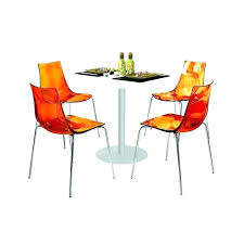 table de cuisine haute pas cher chaise orange fly chaise orange fly luxury fly chaise cuisine chaise