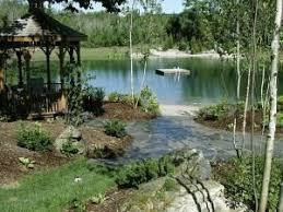 Backyard Swimming Ponds by A Dip In The Pond Landscape Ontario Com Green For Life