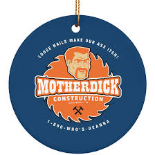motherdick construction ornaments the walking fans