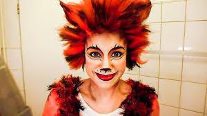 halloween kitty face make up katze karneval fasching halloween cats youtube
