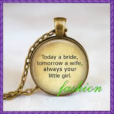 Wedding Gift To Wife Aliexpress Com Buy Father Of The Bride Wedding Necklace Wedding