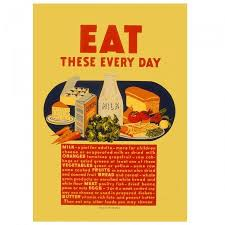 affiche cuisine vintage affiche vintage eat these every day mesh 300