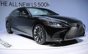 lexus hybrid price lexus ls500h hybrid debuts looks for improved efficiency and