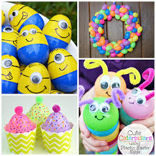 Easter Egg Decorating Ideas With Shaving Cream by Creative Things To Make Out Of Plastic Easter Eggs Crafty Morning