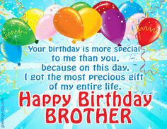 happy birthday brother 100 brother u0027s birthday wishes brother