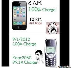 I Phone Meme - nokia vs iphone by blueray meme center