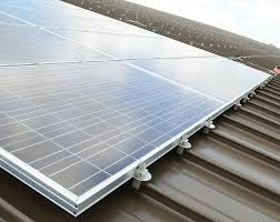 mounting solar panels corrugated metal roof