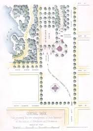 Central Park New York Map by Central Park Maps New York City Historical Blog