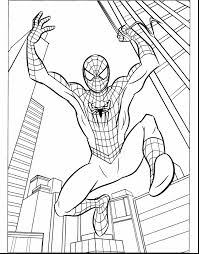 stunning spider man coloring pages with free spiderman coloring