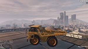 flying dump truck gta5 mods com